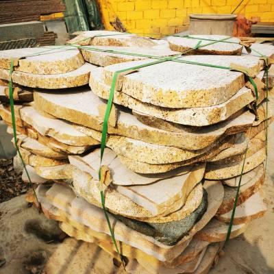 山东切片卵石铺路 绿化用切片卵石