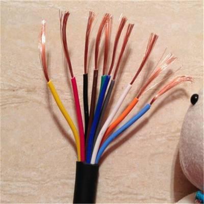铜芯聚氯乙烯绝缘聚氯乙烯护套安装用软电缆 AVVR 24*0.2MM2