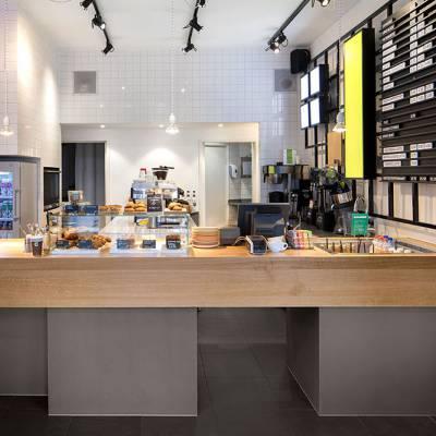 合肥奶茶店装修,工业风奶茶店,打造与众不同的网红奶茶店