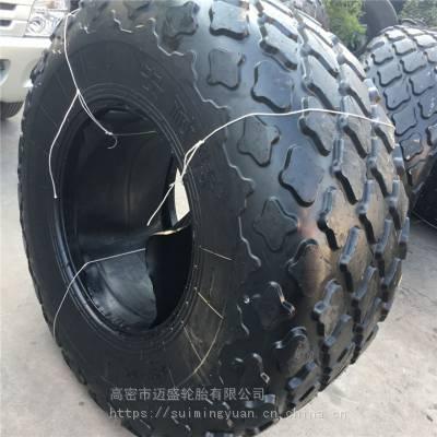 厂家供应梅花式轮胎23.1-26 1800-24压路机徐工柳工滚动式轮胎