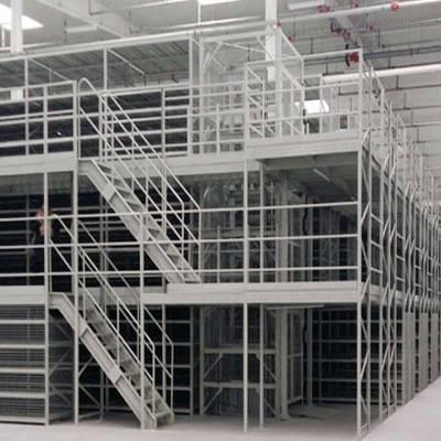 重庆货架加工厂定制 重型中型阁楼货架 钢平台货架