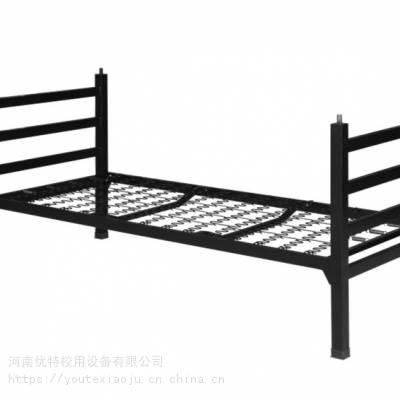 河南优特学生宿舍高低床 员工上下铺床生产厂家