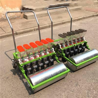 高效汽油播种机拖拉机牵引式精密播种机谷子高粮蔬菜精播机