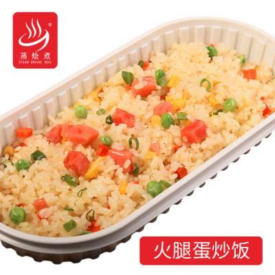 快餐方便炒饭厂家批发袋装加热即食火腿蛋炒饭外卖方便饭料理包