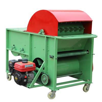 毛豆莢摘莢機 摘莢干凈的毛豆采摘機 家用毛豆采摘機