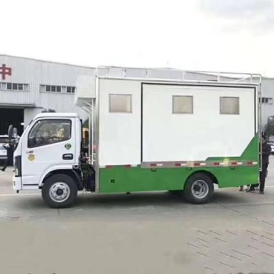东风多利卡流动餐车-蓝牌餐饮车-程力餐车销售部