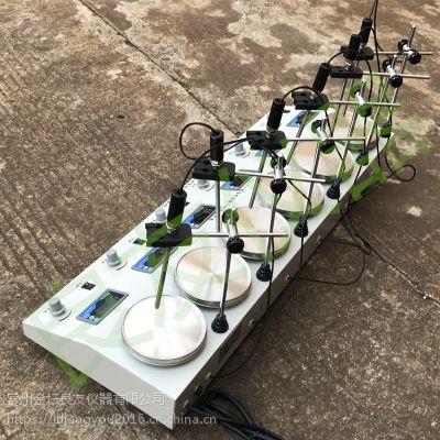 金坛九游会老哥论坛 HJ-6A 六联集热式磁力搅拌器 搅拌器生产厂家