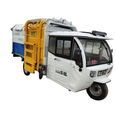 供应电动三轮垃圾车挂桶自卸垃圾车3方