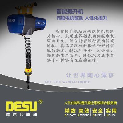 供应苏州德速定制,150KG起重量,伺服电机驱动智能提升机