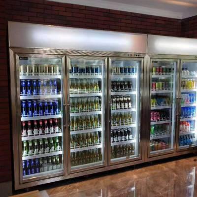 饮料 啤酒 红酒 展示柜便利生鲜超市