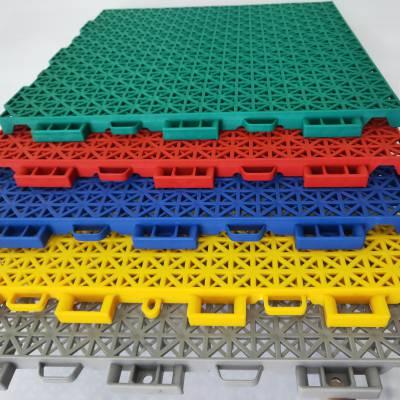 都安瑶族自治县 双层小米格拼装地板 三合一地垫拼接垫防滑 运动场***地板