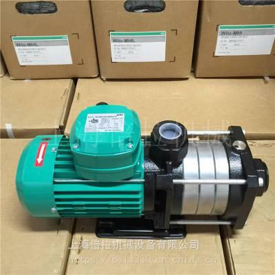 wilo威乐水泵MHIL404N-3/10/E/3-380-50-2供水增压泵句容销售