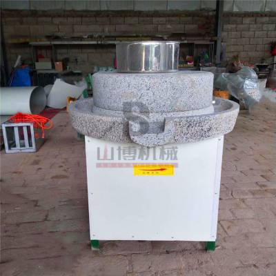 电动石磨香油机 直销四川豆浆电动石磨机