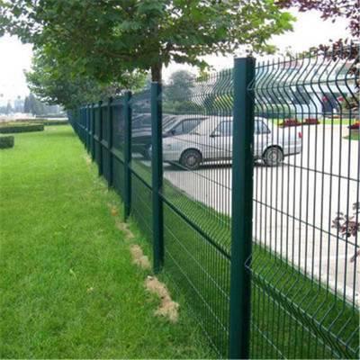山路绿色防护网 铁路护栏网 植物园铁围网