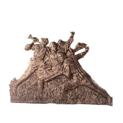 人物玻璃钢雕塑设计 仿铜人物雕塑加工厂 广东人物雕塑