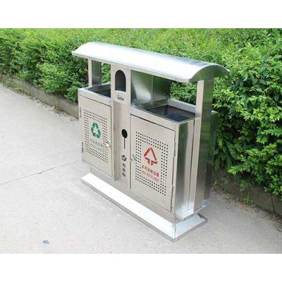 圆柱形不锈钢垃圾桶-好亮捷不锈钢-忻州不锈钢垃圾桶