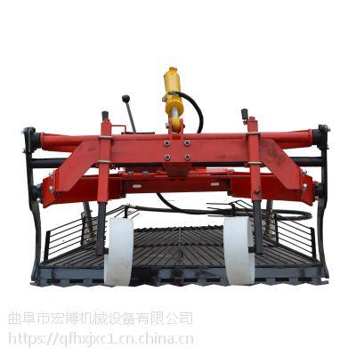 前置挖蒜機 高效率不壓蒜寬幅收蒜機器 小四輪帶的前置起蒜機
