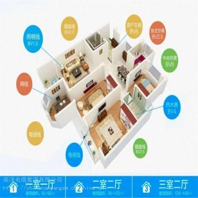 上海南洋 BVR1平方家装电线 电源线 线缆品牌