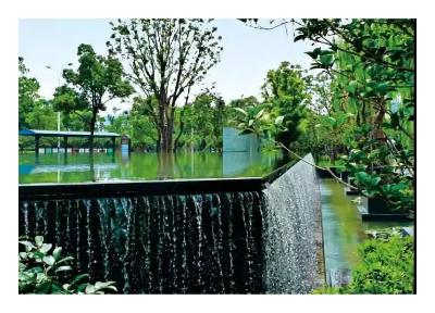 上海风景瀑布设计 上海溥贝实业供应