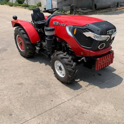 50馬力小型四輪拖拉機 大馬力拖拉機旋耕機 農用四驅拖拉機