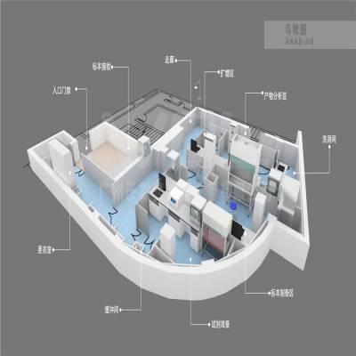医院PCR实验室工程布局建设