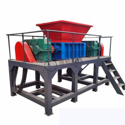 机油滤芯撕碎机 全自动800粉碎机生产线 重型铁屑粉碎机