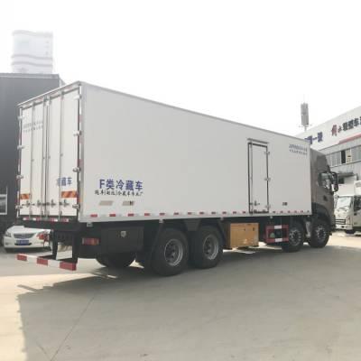 东风天龙 海鲜冷藏车 7.8米冷藏车 整车不超重好上户