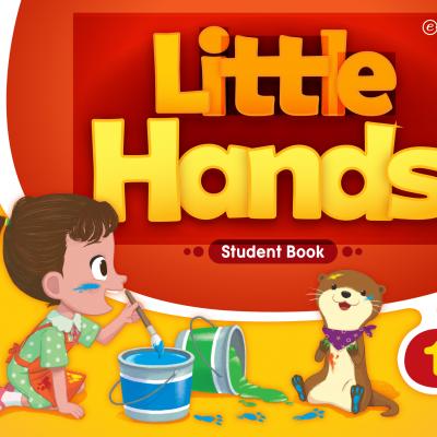 little hands 1级别学生书、目录内页展示
