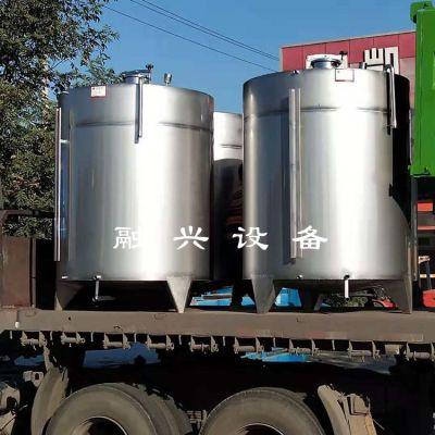8立方不锈钢储罐批发 卫生级储液储水储存罐 融兴
