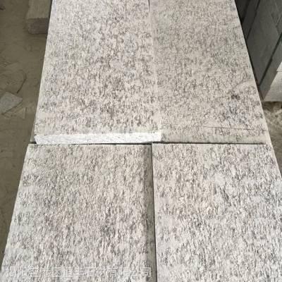 深圳拉槽面 1.8公分锈石光板花岗岩石材定制 山东黄锈石