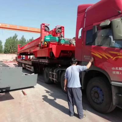 MH型电动门式起重机废铁厂25吨单梁行吊轻型8吨龙门架厂家
