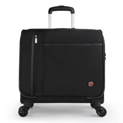 十字勋章 商务拉杆箱18英寸登机箱万向轮密码旅行箱出差尼龙行李箱