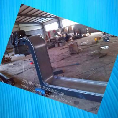广纳7150磨床磁性排屑机铁粉沫输送过滤机器