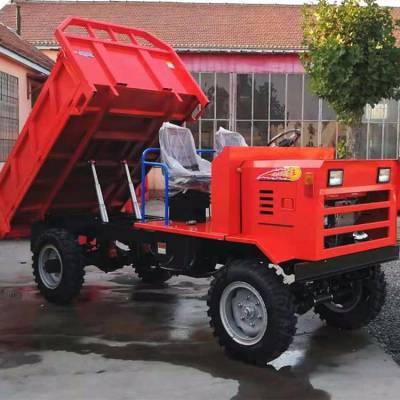 高质量双液压顶运料车 可定做各种型号工程车 砂石砖头运输工程车