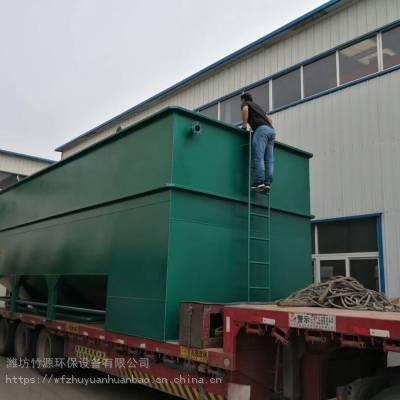 云南省养猪污水处理整套设备,气浮装置、絮凝沉淀装置、过滤装置、消毒设备、地埋式一体化设备-竹源环保