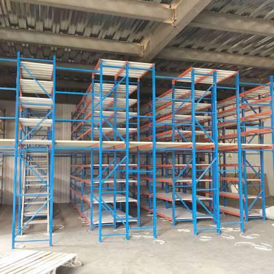 成都阁楼货架 物流钢平台货架 仓储货架供应
