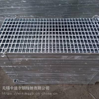热镀锌钢格板 不锈钢钢格栅板 过大车水沟盖板钢格板承载钢格板重量计算G505/30/100