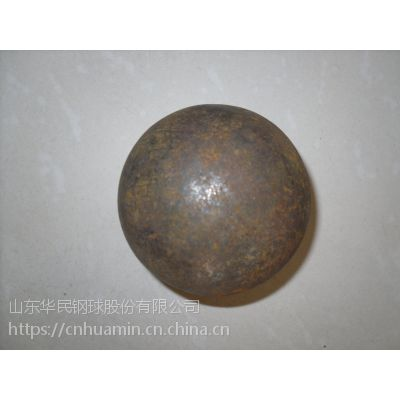 供应华民牌25-140mm高碳合金钢锻造耐磨钢球球磨机研磨矿石