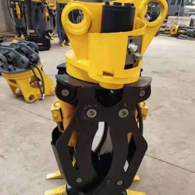 徐工挖掘机改装抓子60挖掘机旋转抓头支持定制