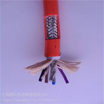 易初厂供应固定安装使用 伺服电缆RVVYP 4x2.5+(2x1.5)P 屏蔽对绞线缆