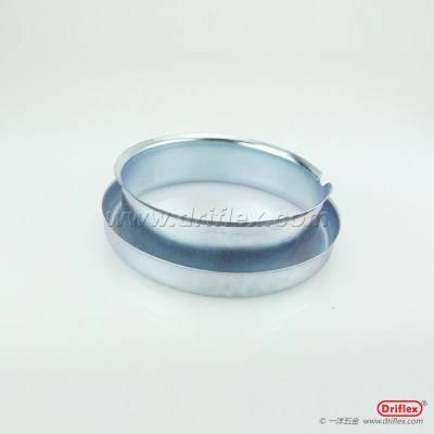 Driflex一洋五金铁镀锌牙圈, 豁口或螺纹式金属环,护口