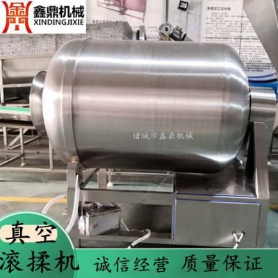 全自动1000L呼吸式真空滚揉机 果蔬不锈钢滚揉机 速冻调理品滚揉机
