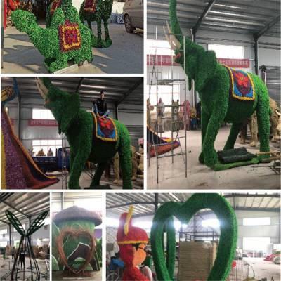 北京绿雕厂家加工定做绿雕鲜花绿植定制
