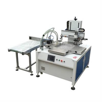 电动吸气丝印机调机流程