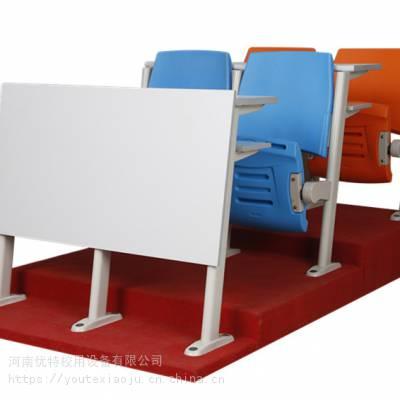内蒙古校用中空吹塑连排椅 多人位塑料连排椅