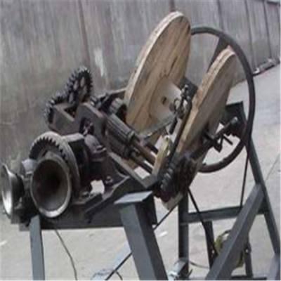 全自动捆草绳 电动稻草编绳机 草绳机 稻草绳机械