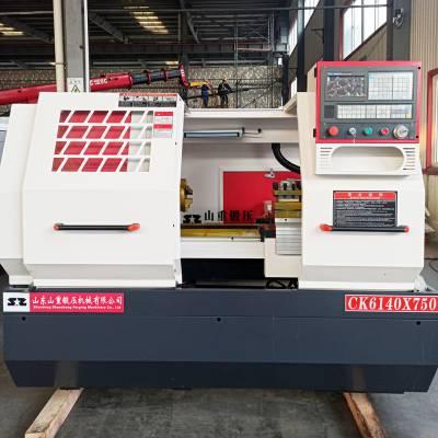 现货供应精密CAK6140数控车床-两档档内变频-4工位电动刀架