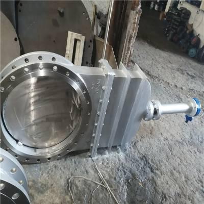 手动软密封刀型闸阀 DMZ73X-10 DMZ73X-16C 污水 雨水管道闸阀