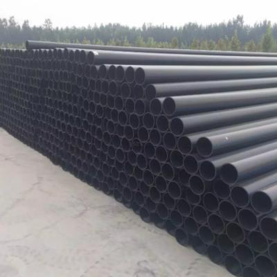 pe生产厂家瑞光牌PE节水灌溉管材PE100供水管HDPE铁矿用管耐腐蚀黑色管材