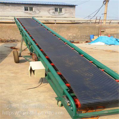 煤矸石胶带输送机 低耗能大倾斜角带式运输设备